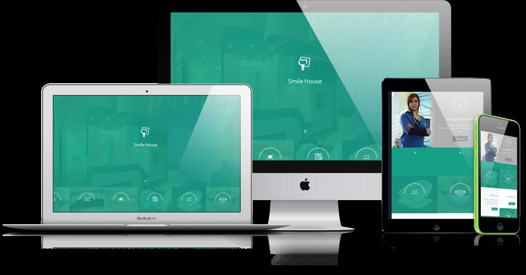 یک نمونه طراحی سایت