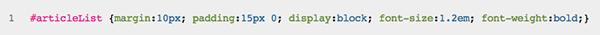 کد CSS بدون فضای خالی